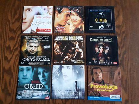 Filmy DVD po 4zł