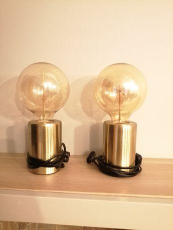 Lampki stołowe loft, vintage