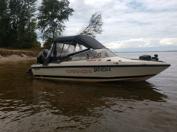Катер лодка Cranchi runner 15+прицеп (без двигателя)