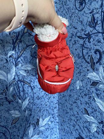 Тепле взуття для вашоі крихітки