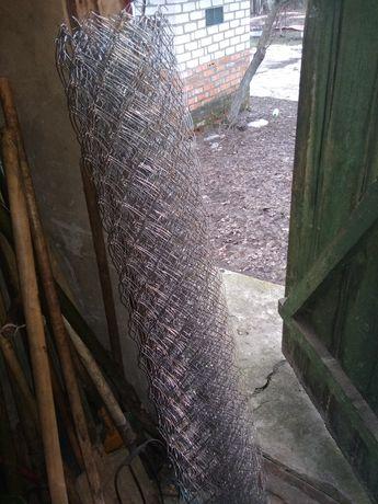 Сетка Рабица 6×6,высота-1.20м,в рулоне-10м