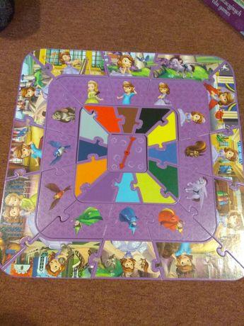 puzzle Gra edukacyjna 10w1 księżniczka Zosia