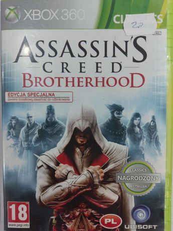Assassin's Creed Brotherhood Xbox 360 Używana Kraków