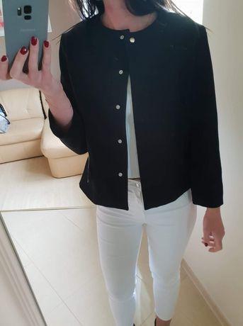 Czarna kurteczka cienka zakiet Zara M 38 L 40 nowy stan idealny