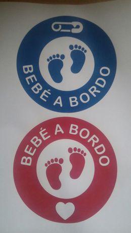 "Sticker ""Bebé a Bordo"""