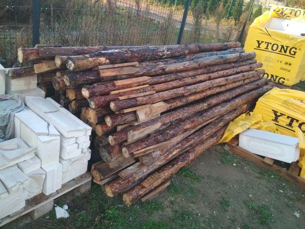 Stemple budowlane 3m drewniane