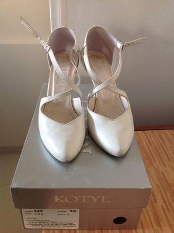 Buty ślubne, do tańca rozmiar 35 Kotyl