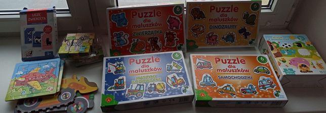 5 zł WYSYŁKA! Puzzle dla maluszków 2+
