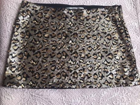 Spódnica cekinowa Zara