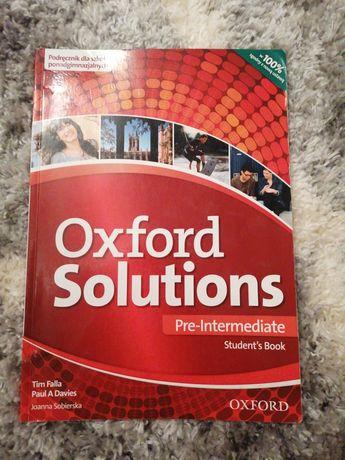 Oxford solutions pre-intermediate.