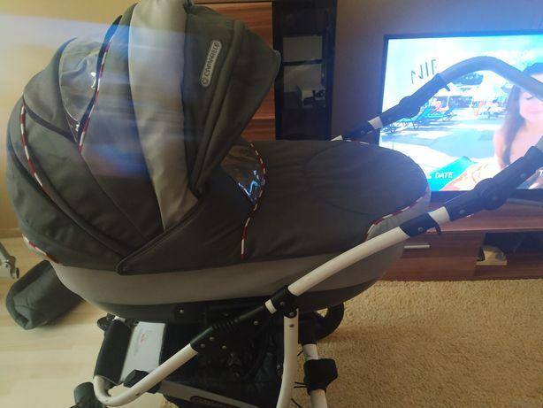 Sprzedam wózek z gondolą,spacerówkę oraz nosidełko