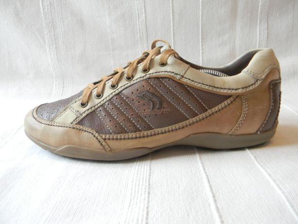 Муж.кожаные туфли кроссовки Geox Respira Оригинал р.42