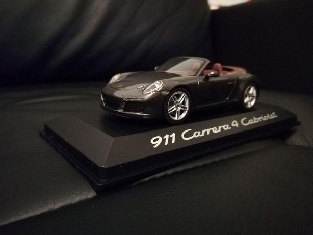 Porsche 911 carrera cabrio 1/43