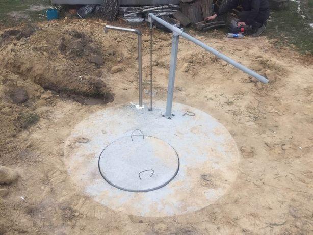 Встановлення ручних насосів для води. Насосное оборудование