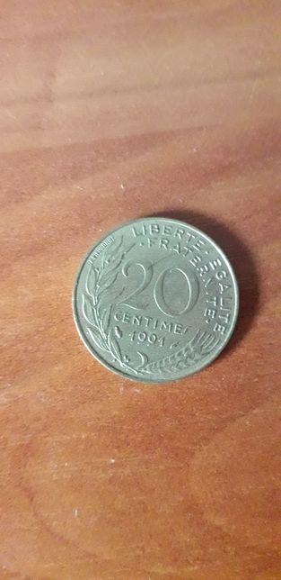 Монета,троещина