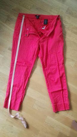 Czerwone spodnie H&M, roz. L
