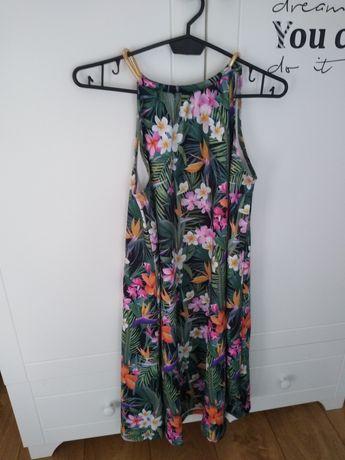 M sukienka mohito kwiaty liście