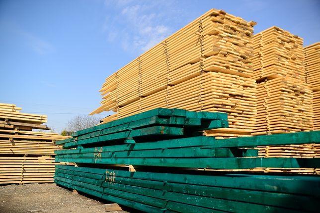 Więźba dachowa drewno konstrukcyjne łaty dach tartak deski szalunkowe