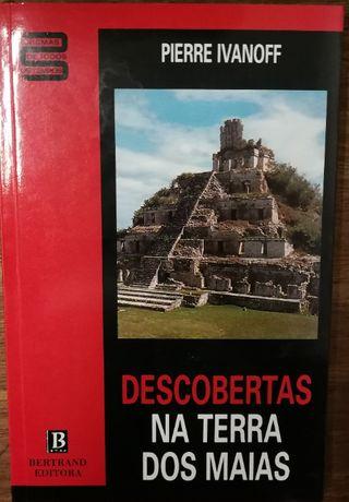 descobertas na terra dos maias, pierre ivanoff, bertrand