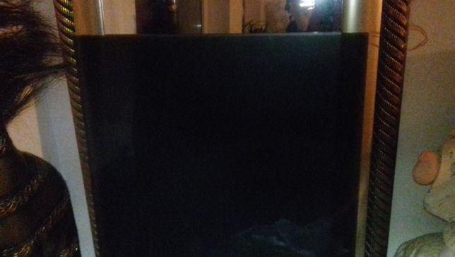 Szklany blat szyba (nakładka) 57x125cm grafitowy