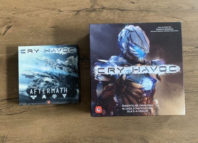 CRY HAVOC + DODATEK AFTERMATH gra planszowa gry planszowe wymiana