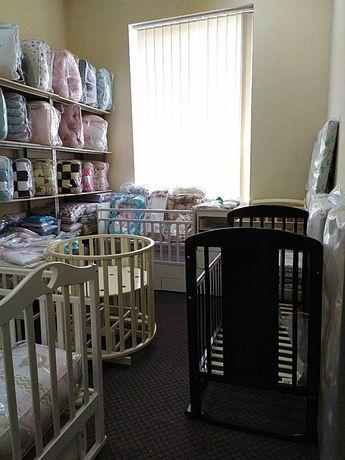 Детские кровати, манежи от 7000 рублей