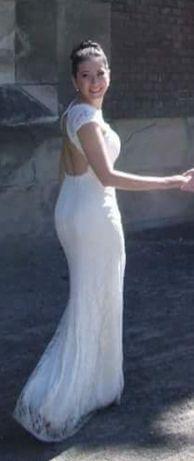 Весільне плаття рибка айворі