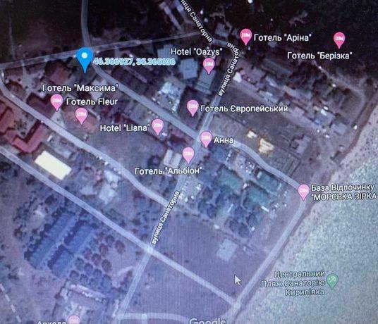 Продам земельный участок в санатории Кирилловка