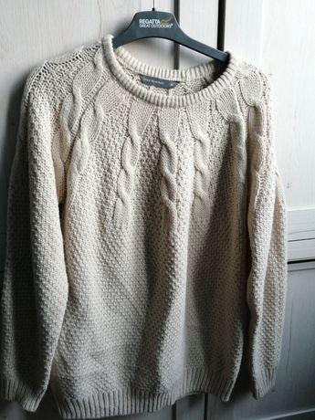 Ciepły sweter damski