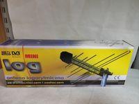 antena logarytmiczna mini log ze wzmacniaczem,lombard madej sc