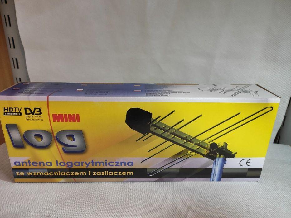 NOWA antena pokojowa lub zewnętrzna 2w1 logarytmiczna DVB-t MINILOG