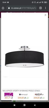 Lampa sufitowa czarna Viviane Black plafon