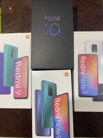 Новые Xiaomi Redmi7а/9а/9с/9/Note9/PocoX3/Mi Note10lite