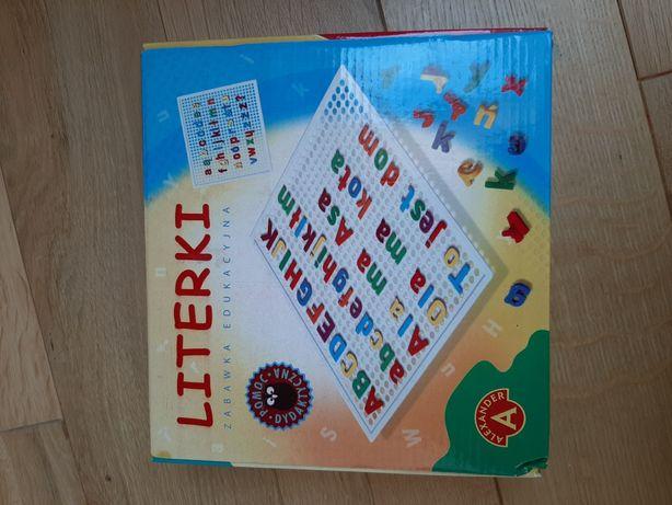 LITERKI zabawka edukacyjna