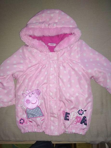 Куртка, курточка Пеппа, Peppa Pig