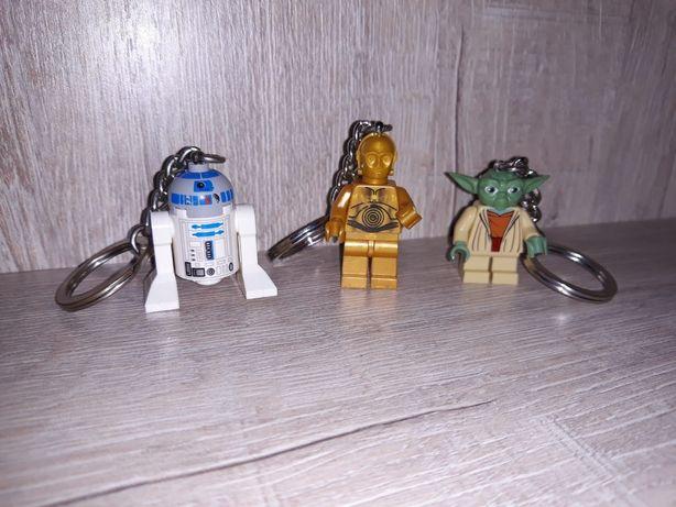 Лего оригинал.Lego.Брелки Star wars.Звездные войны.