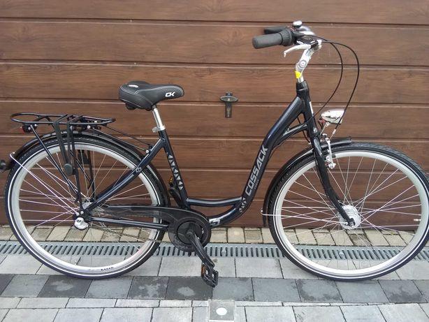 Rower miejski NOWY 3 biegi aluminium Cossack
