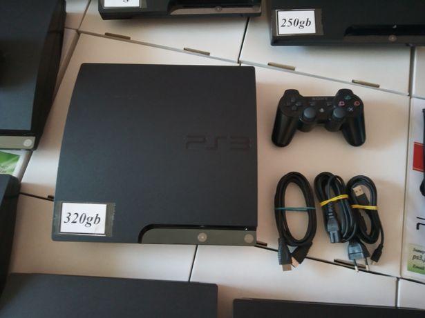 Sony PS3 Slim 320gb (прошита+Ігри) Hen 4.87 Із Європи Без Предоплат