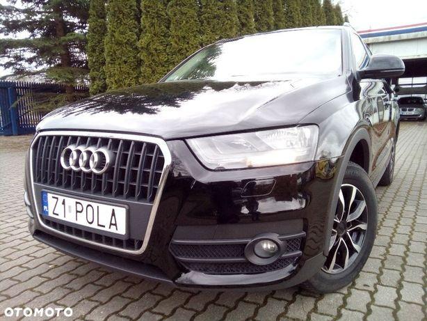 Audi Q3 2.0TDI, 6 biegów, Alu, Klimatronik, Bezwypadkowy, Serwisowany,