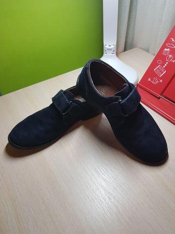 Туфли замшевые на мальчика 31