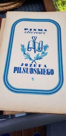 Pisma zbiorowe Józefa Piłsudskiego 1937 Piłsudski 10 tomów kpl OKAZJA