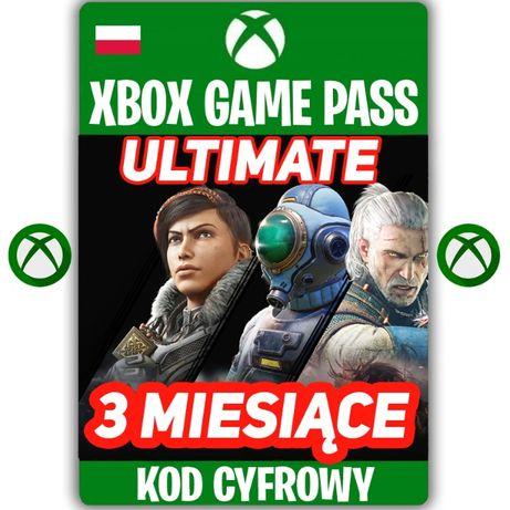 XBOX Game Pass ULTIMATE + Live Gold 3 Miesiące KOD 90 Dni KEY PL