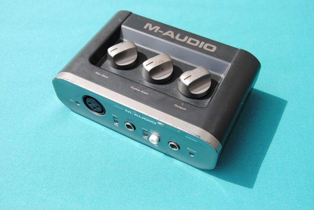 M-Audio Fast Track USB 2 Computer Audio Interface