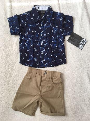 Костюмчик літній, сорочка, шорти 18 місяців