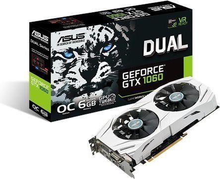 [Rezerwacja] ASUS GeForce GTX 1060 Dual OC 6GB GDDR5