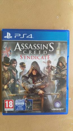 Sprzedam grę Assassin's Creed Syndicate na PS4