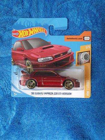 Hot Wheels Subaru