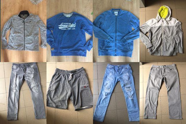 mega zestaw 8 szt odzież wszyskie jak nowe tommy hilfiger