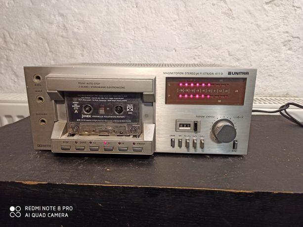 Magnetofon UNITRA Etiuda 411D deck