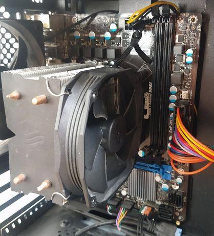 Procesor Intel I5 3470 Płyta Główna MSI H61M-P31 Wentylator Spartan 3